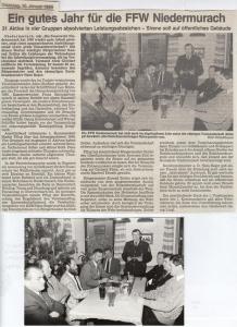 Generalversammlung 1989 @FFW Niedermurach