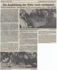 Generalversammlung 1988 @FFW Niedermurach