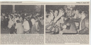 Gartenfest 1987 @FFW Niedermurach