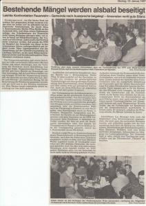Generalversammlung 1987 @FFW Niedermurach