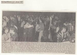 Feuerwehrball 1987 @FFW Niedermurach
