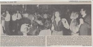 Feuerwehrball 1986 @FFW Niedermurach