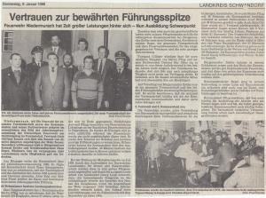 Generalversammlung 1986 @FFW Niedermurach