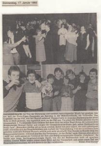 Feuerwehrball 1985 @FFW Niedermurach