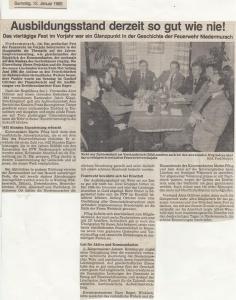 Generalversammlung 1985 @FFW Niedermurach