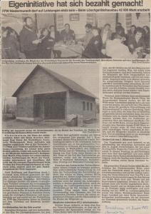 Generalversammlung 1983 @FFW Niedermurach