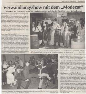 Faschingsball 2000 @FFW Niedermurach