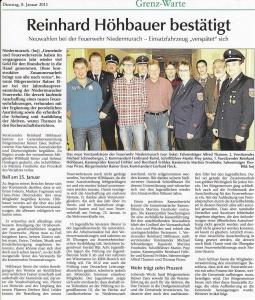 Generalversammlung 2013 FFW Niedermurach