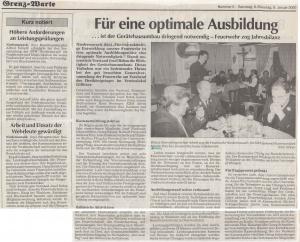 Generalversammlung 2000 FFW Niedermurach