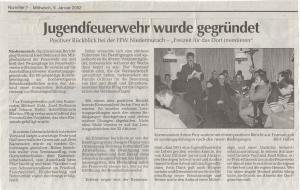 Generalversammlung 2002 FFW Niedermurach