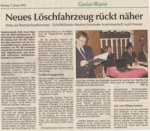 Generalversammlung 2012 FFW Niedermurach