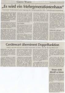 Generalversammlung 2008 FFW Niedermurach