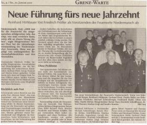 Generalversammlung 2010 FFW Niedermurach