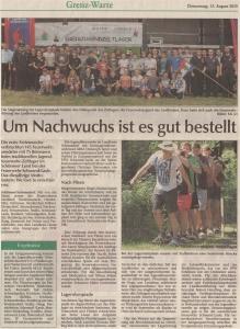 Kreisjugendzeltlager 2015 FFW Niedermurach