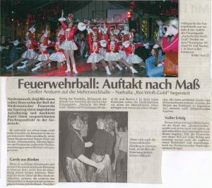 Faschingsball 2006 FFW Niedermurach