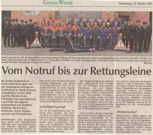 Jugendflamme I & II 2015 FFW Niedermurach