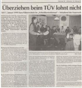 Infoabend  FFW Niedermurach