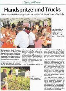 Sommerfest 2012 FFW Niedermurach