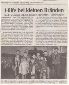 Infotag Jugend FFW Niedermurach