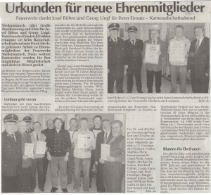 Kameradschaftsabend 2005 FFW Niedermurach