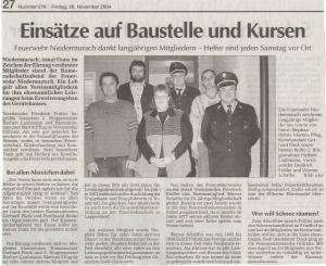Kameradschaftsabend 2004 FFW Niedermurach