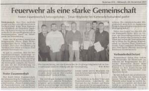 Kameradschaftsabend 2001 FFW Niedermurach