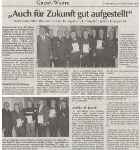 Kameradschaftsabend 2006 + JugendFW Abzeichen + Ehrung Martin Pflug  FFW Niedermurach