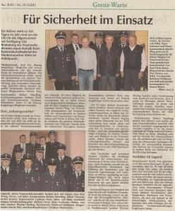 Kameradschaftsabend 2015 FFW Niedermurach