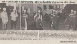 Brandschutzwoche 1990 @FFW Niedermurach