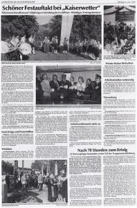 125jähriges Gründungsjubiläum 1996 @FFW Niedermurach