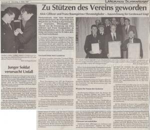 Kameradschaftsabend 1997 @FFW Niedermurach