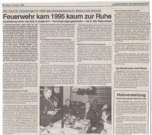 Generalversammlung 1996 @FFW Niedermurach