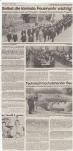 Florianstag in Niedermurach 1994 @FFW Niedermurach