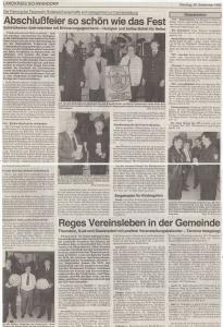 Abschlußfeier Fest FFW Rottendorf 1995 @FFW Niedermurach