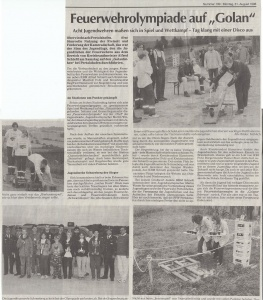 Jugendfeuerwehrolympiade 1998 @FFW Niedermurach