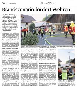 Einsatzübung 2018 in Niedermurach @FFW Niedermurach