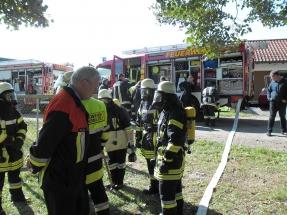 Atemschutzlehrgang in Oberköblitz 2013 002