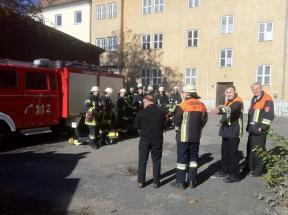 Atemschutzlehrgang in Teunz 2013 001