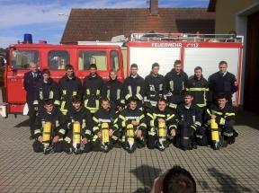 Atemschutzlehrgang in Teunz 2013 011