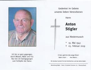 Anton Stigler +05.05.2019