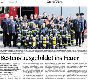 Atemschutzlehrgang in Teunz 2019 @FFW Niedermurach