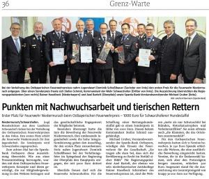 Ostbayerischer Feuerwehrpreis 2019 @FFW Niedermurach